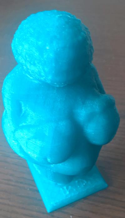 Schnitzvorlage – Venus von Willendorf