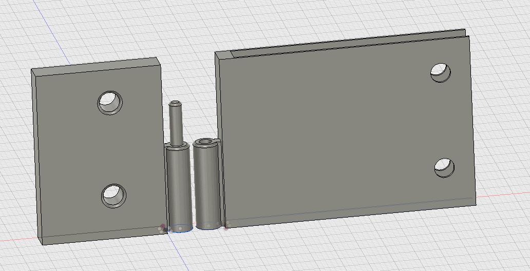 SLICED – Ein Scharnier für eine Acrylglastür mit Fusion 360 erstellen