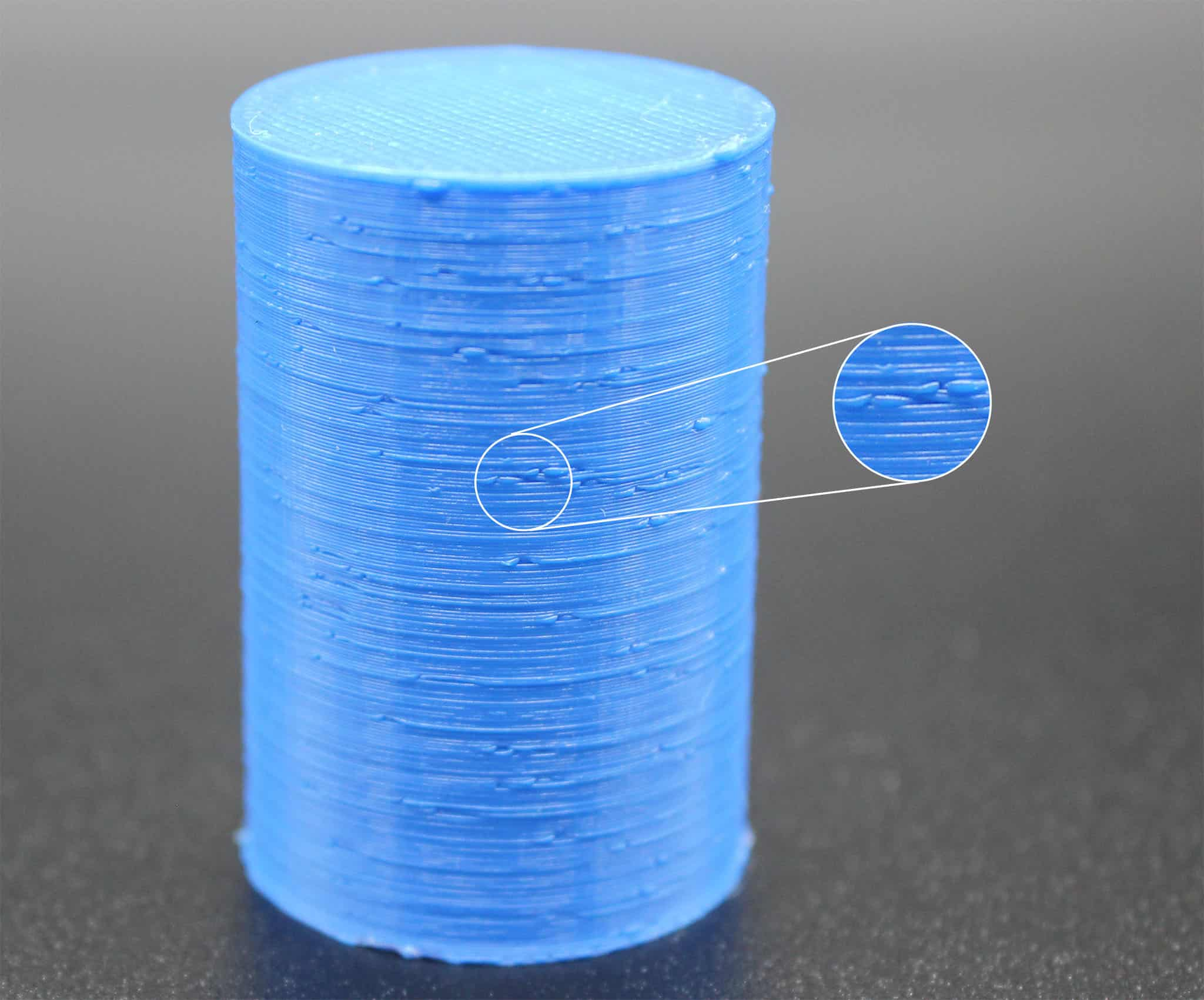 3D Druck – Erste Hilfe: Tropfen auf der Außenfläche
