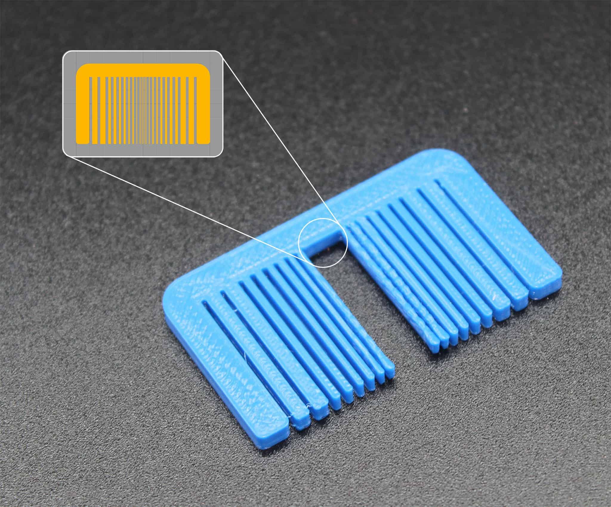 3D Druck – Erste Hilfe: Feine Details werden nicht gedruckt