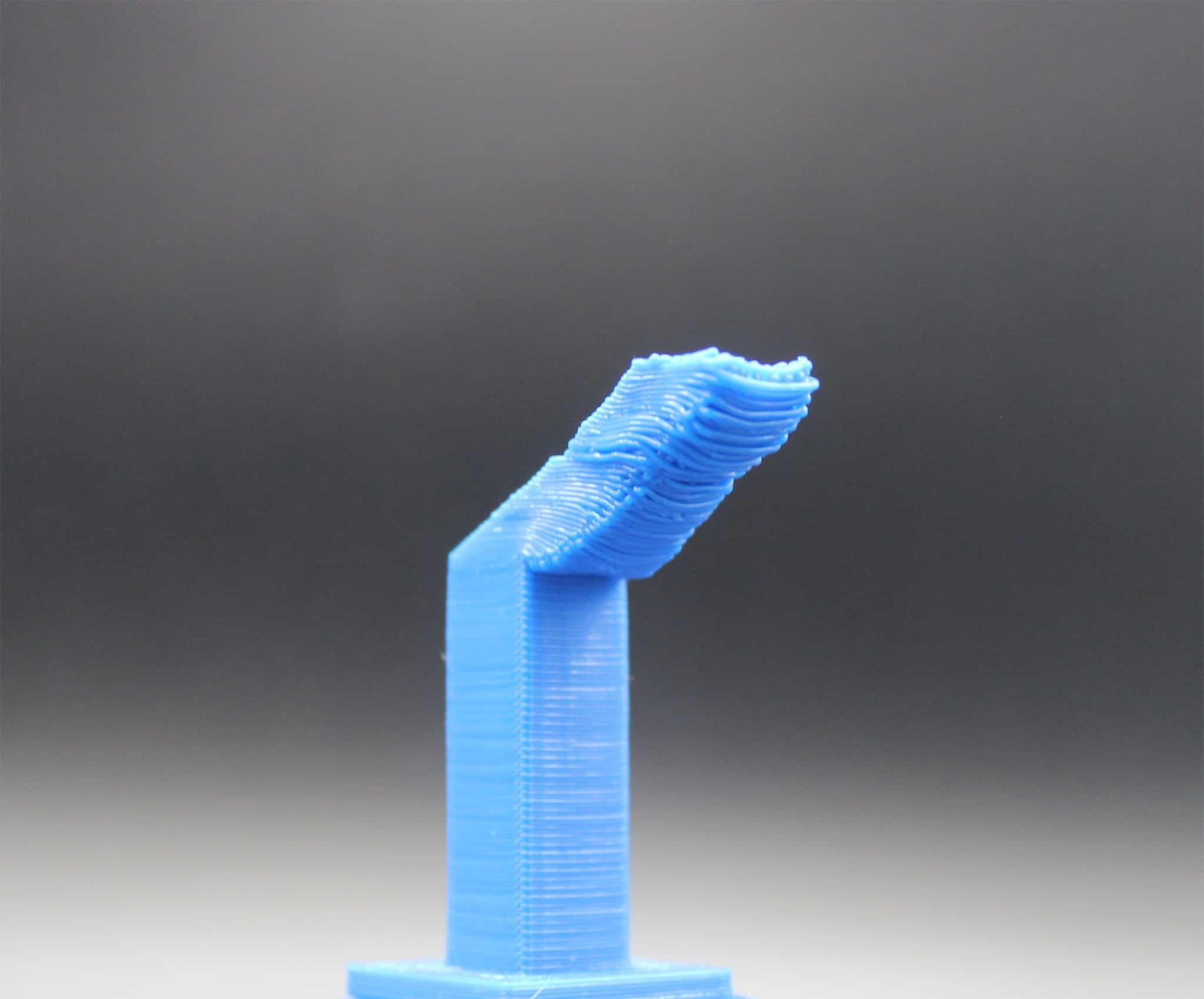 3D Druck – Erste Hilfe: Unsauber gedruckte Überhänge