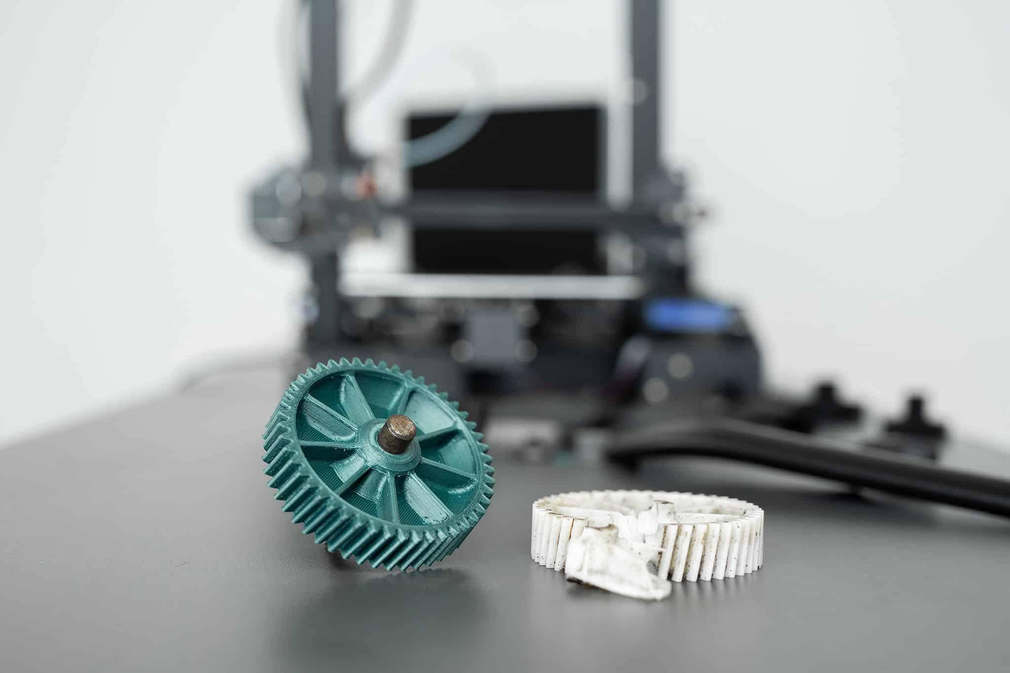 Ist es erlaubt 3D gedruckte Ersatzteile herzustellen?